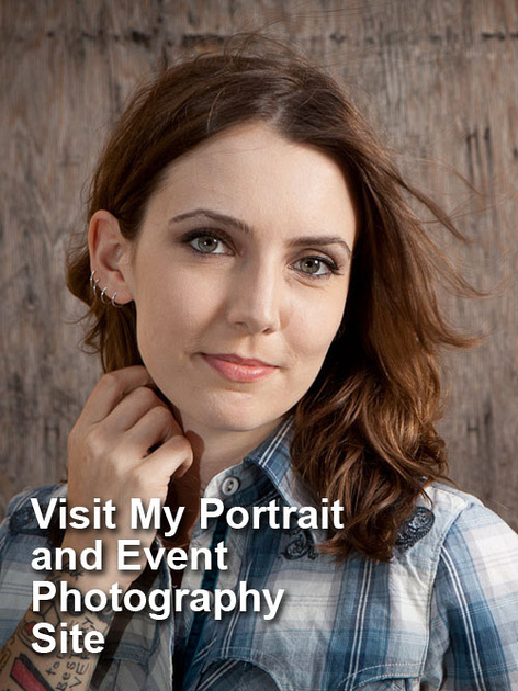 Visit My Studio, Portrait, and Event Site